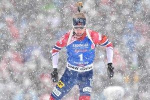 Йоханнес Бе стал победителем гонки преследования Кубка мира