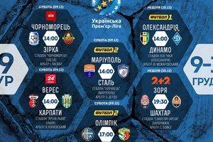 Все матчи 19 тура чемпионата Украины: бронзовый призер против чемпиона