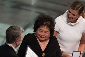В Осло прошла церемония вручения Нобелевской премии мира