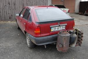 "Made in Ukraine: старый ""Опель"", который питается дровами"