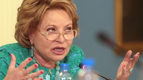 Матвиенко отвергла выход Российской Федерации изПАСЕ