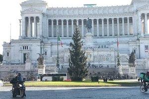Рождественская елка в Риме спровоцировала скандал