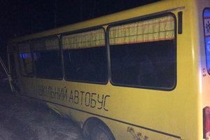 В Житомирской области произошло ДТП со школьным автобусом