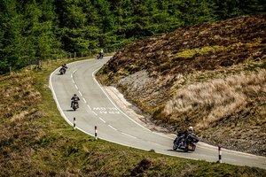 Неутешительная статистика: в полнолуние мотоциклисты гибнут чаще, чем обычно