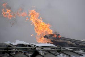 Появилось видео взрыва на газовом хабе в Австрии