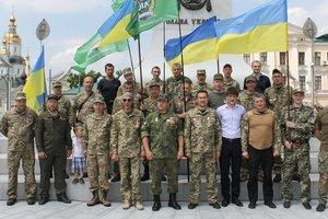 Харьковские ветераны АТО призвали перестать раскачивать Украину