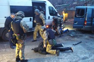 """Задержание банды """"полицейских"""" в Запорожье: появились фото и подробности"""