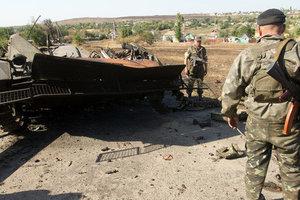 Украинские военные утихомирили боевиков на Донбассе