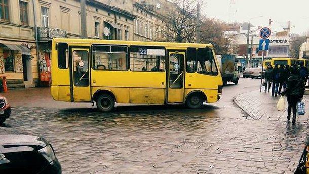 Маршрутки во Львове станут дороже, но не лучше. Фото: lviv.depo.ua