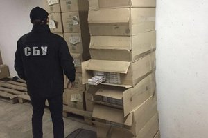 В Одессе изъяли контрабанду сигарет больше чем на миллион гривен