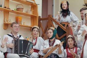 Это бомба: украинский фольклорный ансамбль перепел хит Despacito