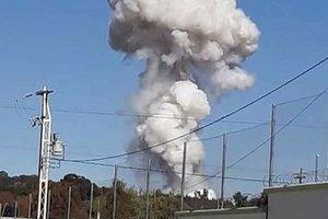 В Мексике произошел взрыв на складе пиротехники
