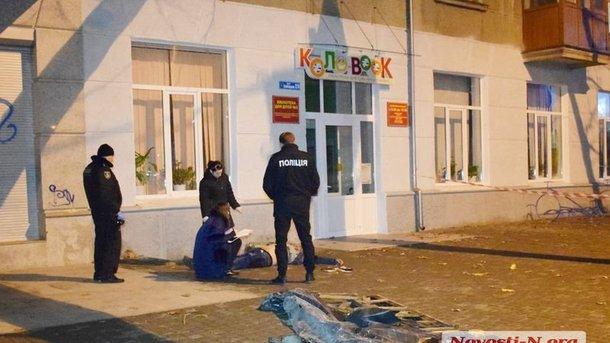 Вцентре Николаева умер украинский военный, провалившись вяму