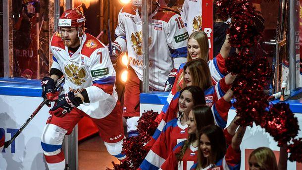 На Играх у хоккеистов герба не будет. Фото AFP