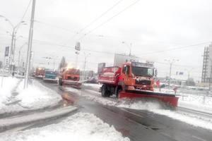 Как отследить снегоуборочную технику в Киеве