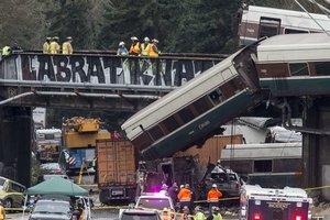 Крушение поезда в США: появились новые подробности