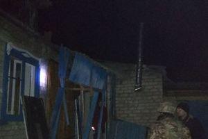 Более ста зданий были повреждены при артобстреле боевиками Новолуганского