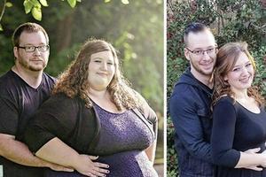 """""""Любовь не имеет размера или веса"""": за полтора года супружеская пара сбросила на двоих 180 кг"""