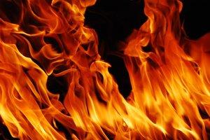Под Харьковом в огне погибла женщина
