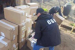 В Одесской области СБУ изъяла крупную партию контрафактного спирта и сигарет