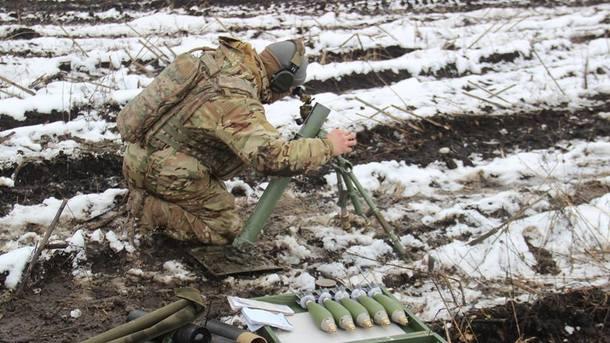 Боевики семь раз обстреляли позиции ВСУ наДонбассе
