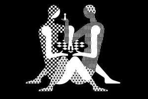 """В шахматы сыграли в позе из """"Камасутры"""", скопировав логотип чемпионата мира"""