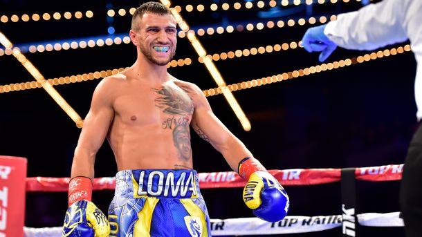 Ломаченко стал лучшим боксером года поверсии влиятельного интернет ресурса