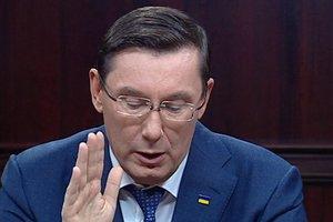 """Луценко рассказал о """"публичном сведении счетов"""" в конфликте с НАБУ"""