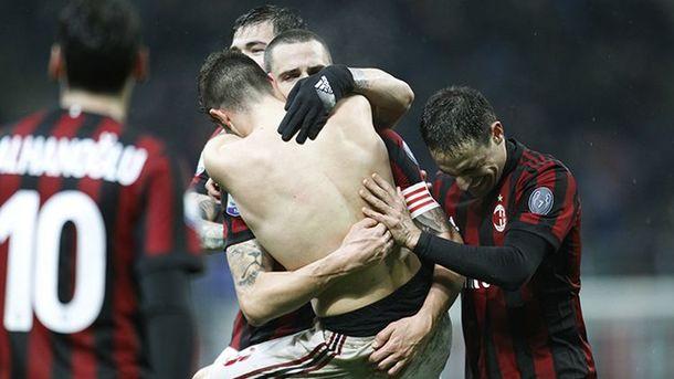 «Милан» вдополнительное время обыграл «Интер» ивышел вполуфинал Кубка Италии