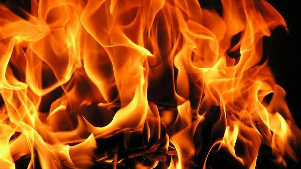 На Харьковщине заживо сгорел мужчина