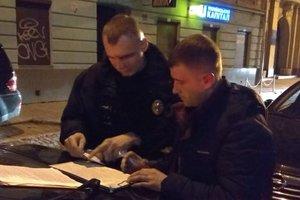 В центре Львова поймали нетрезвых волынских копов