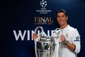 Криштиану Роналду признан лучшим спортсменом Европы