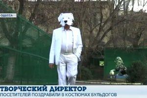 Директор Одесского зоопарка перевоплотился в собаку и снял клип