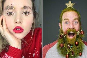 Новогодняя мода: как украсить себя вместо елки