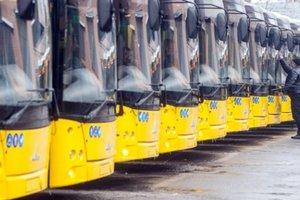 Киевский транспорт в новогоднюю ночь будет работать на три часа дольше