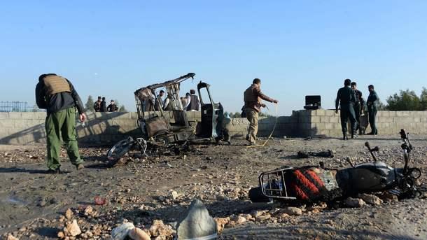 Взрыв напохоронах вАфганистане забрал жизни 15 человек
