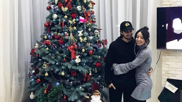 Надя Дорофеева с мужем Владимиром Дантесом. Фото:Instagram