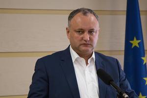 Конституционный суд Молдовы приостановил полномочия президента Додона