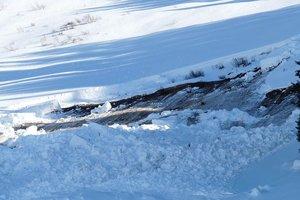 В Карпатах сошла лавина объемом 12 тысяч кубометров