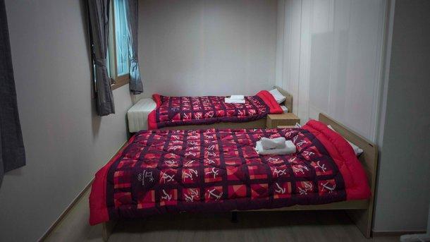 Комнаты в олимпийской деревне. Фото AFP