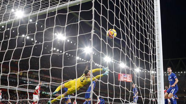 «Челси» сыграл вничью с«Арсеналом»