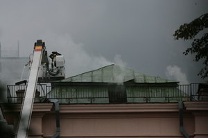 В Киеве из-за пожара в доме эвакуировали 40 человек