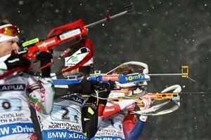 Пидручный начал год с 10-го места в спринте на Кубке мира по биатлону
