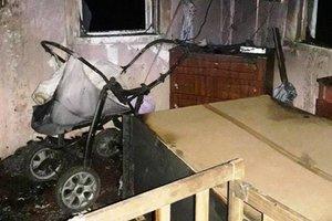 В Житомирской области в пожаре погибли двое маленьких детей