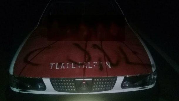 ВМексике милиция отыскала авто спятью отрезанными головами накапоте
