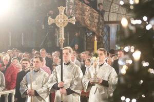 Как встречали Рождество в Киево-Печерской Лавре