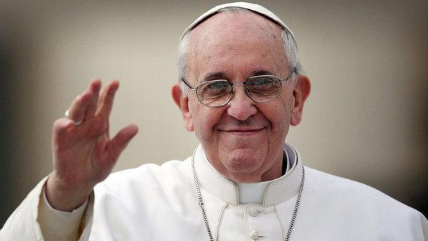 Папа Франциск призвал мир незабывать овойне вДонбассе