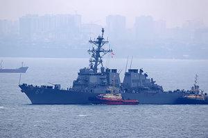 В Одесском порту пришвартовался американский эсминец