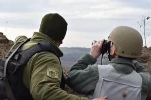 По позициям сил АТО на Донбассе ударили из тяжелых минометов