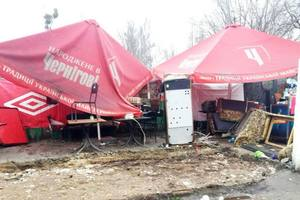 Since the beginning of the year in Kiev was demolished 10 illegal structures